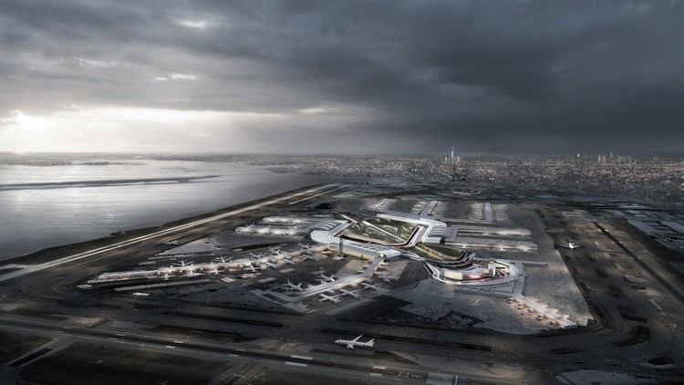 New York Plans $10 Billion Renovation of JFK Airport, Courtesy of State of New York