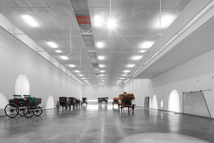 2017 e a retomada da arquitetura portuguesa, Museu dos Coches / Paulo Mendes da Rocha + MMBB Arquitetos + Bak Gordon Arquitectos. Image