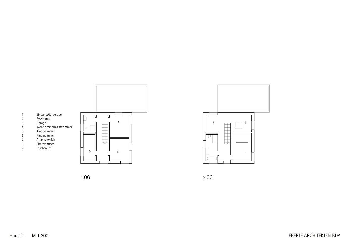 Superb Haus D,Floor Plan