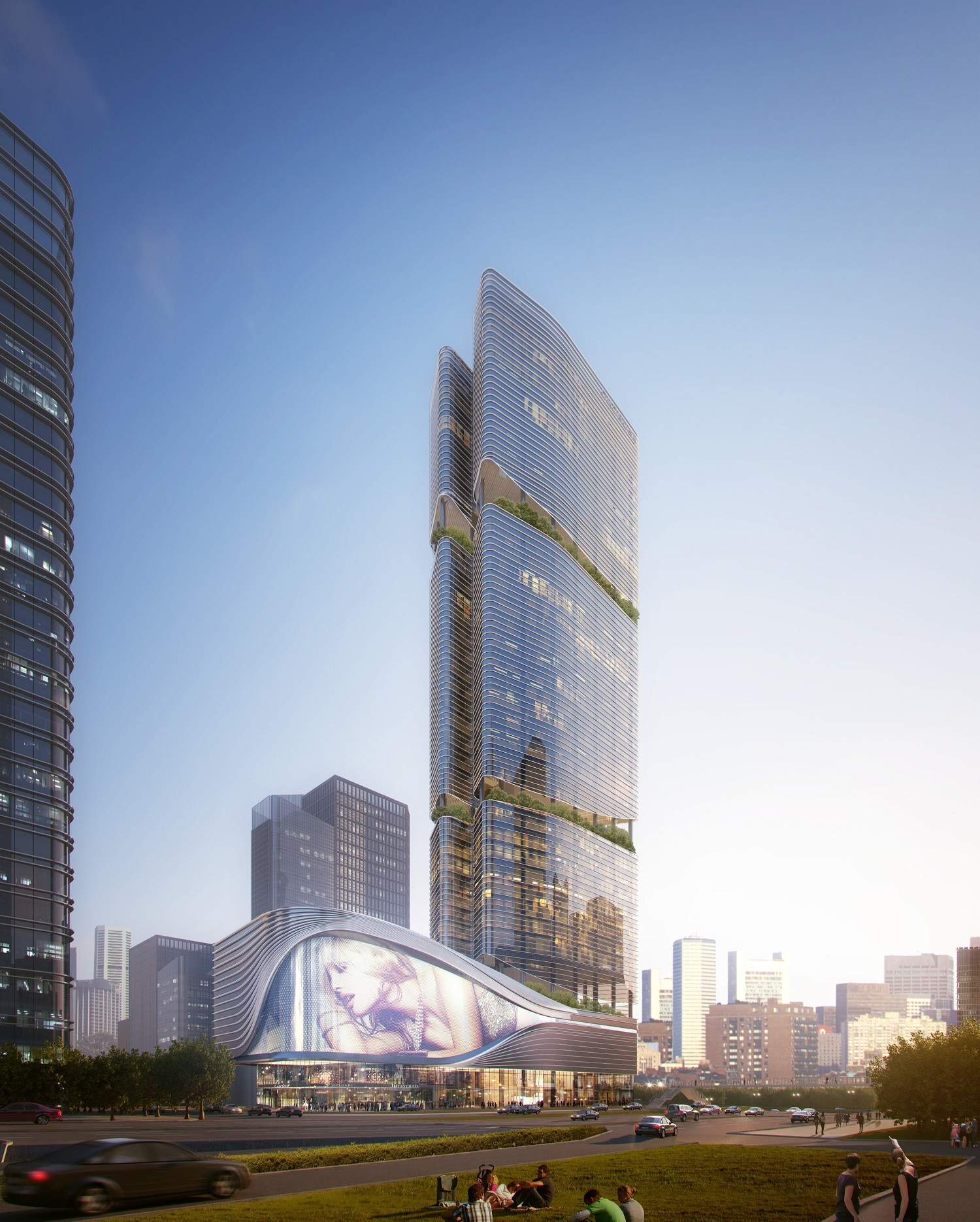 Gallery Aedas Releases Plans For Blooming Bamboo