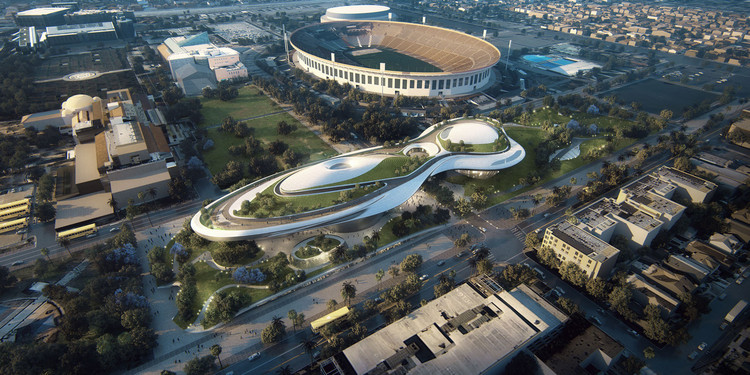 Los Angeles albergará el futuro museo de George Lucas, Cortesía de Lucas Museum of Narrative Art