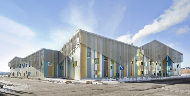 Kalasatama School and Day Care / JKMM Architects, ©  Studio Hans Koistinen