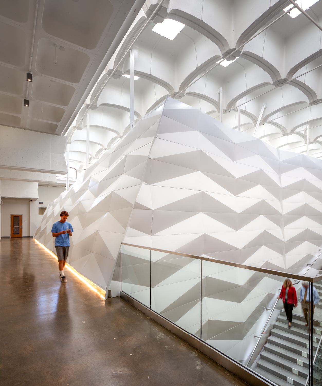 Uc San Diego Galbraith Hall Interior Renovation Kevin Defreitas Architects Archdaily