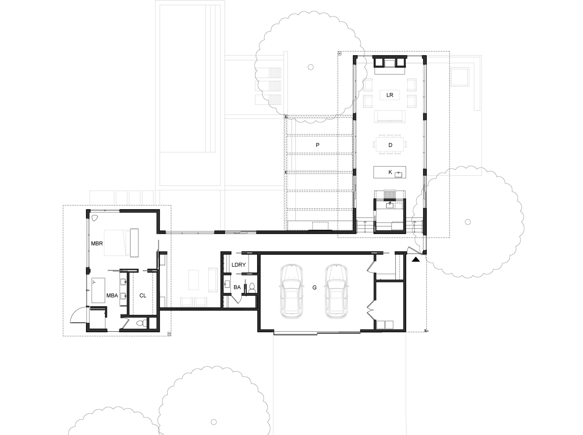 gallery architecture plan - photo #38