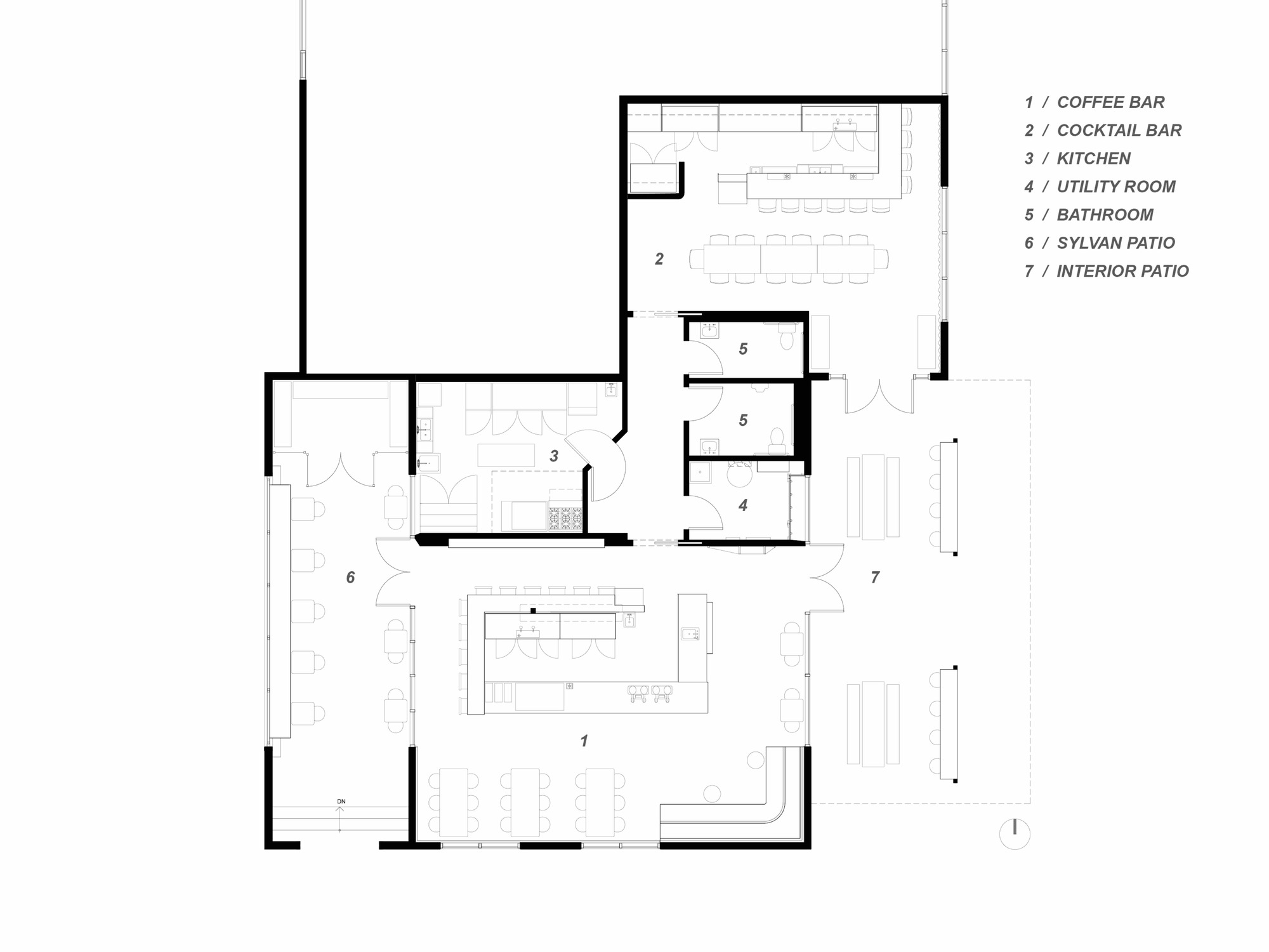 Coffee Floor Plan: Gallery Of Houndstooth Coffee And Jettison Cocktail Bar