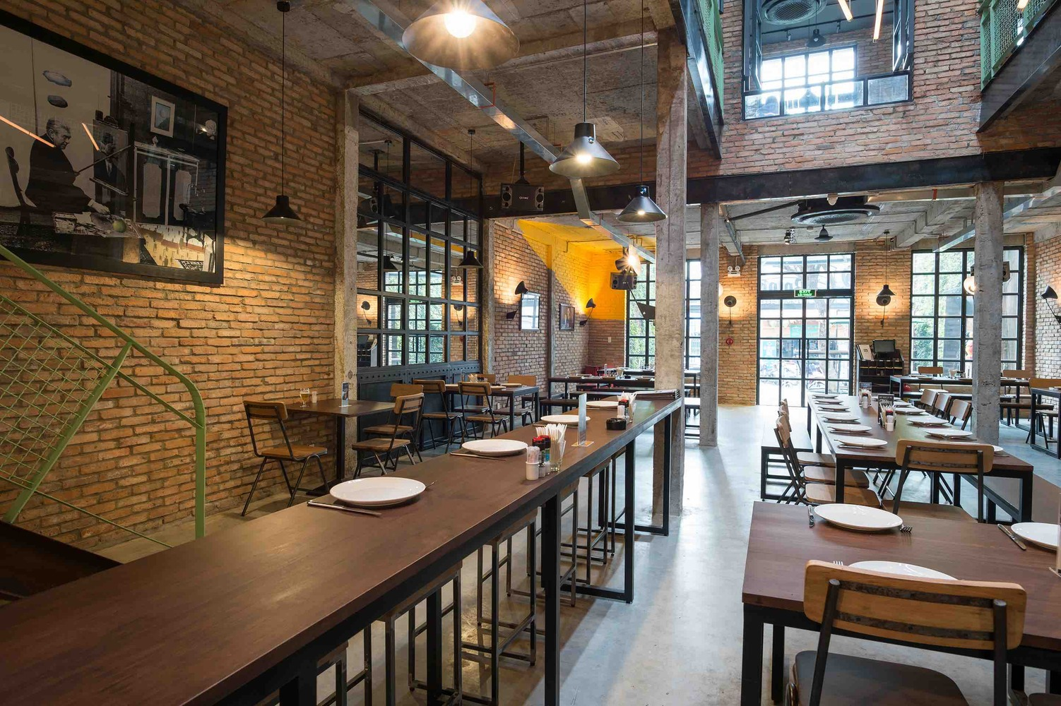 Charles Brice Architects Industrial Brewery Pub In Saigon