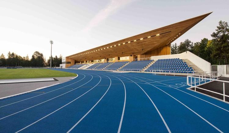 Estádio Pärnu / Kamp Arhitektid, © Terje Ugandi
