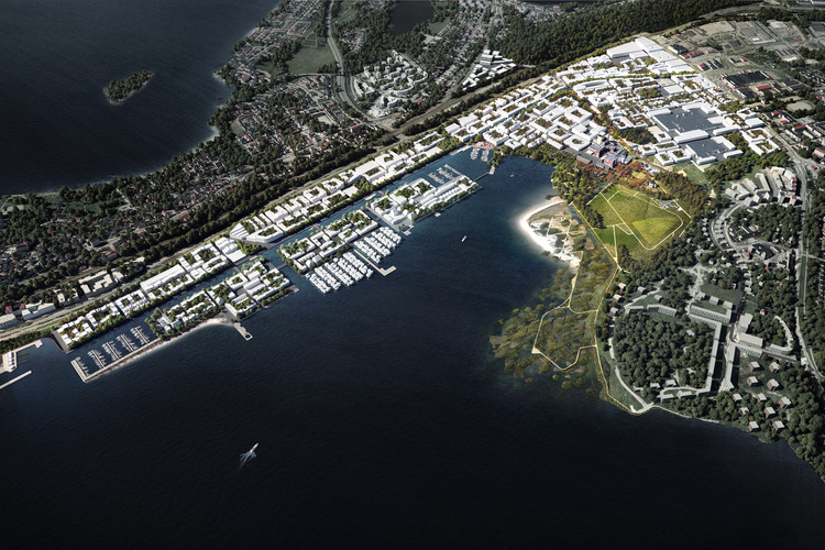 Winning Proposal for Finland Bay Masterplan Transforms Industry into Innovation, Courtesy of Schauman & Nordgren Architects + Mandaworks