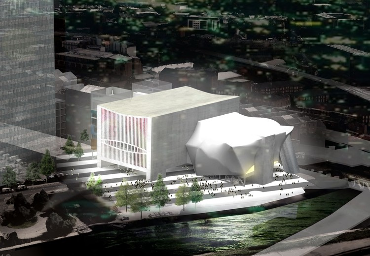 OMA's £110 million Arts Center in Manchester Receives Planning Approval, Courtesy of Factory Manchester