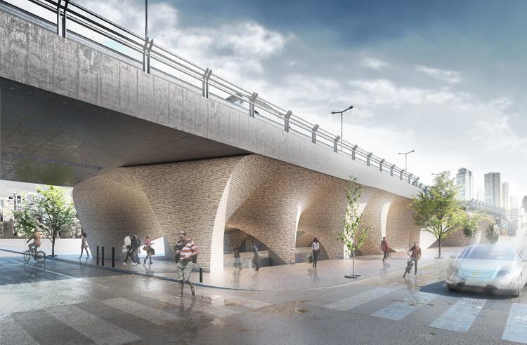 CAAT Studio transforma ponte em Museu no Irã, Cortesia de CAAT STUDIO