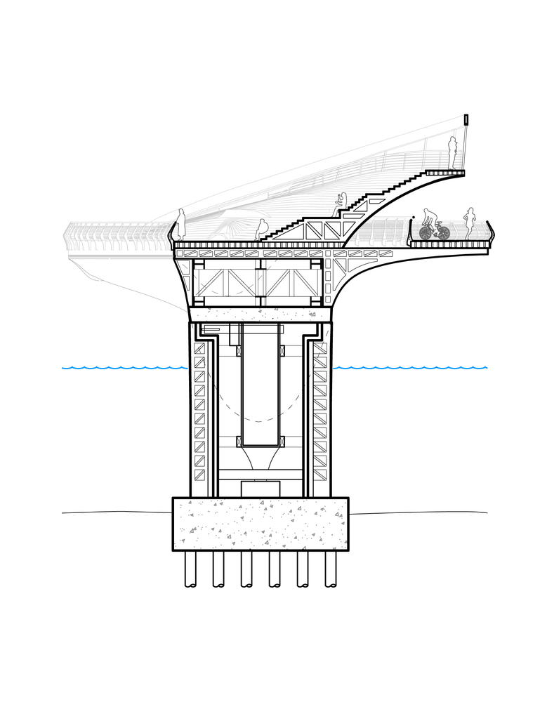 rotating bridge diagram