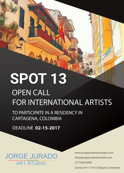 Call for Submissions: Artists Residency SPOT 13, Poster SPOT 13