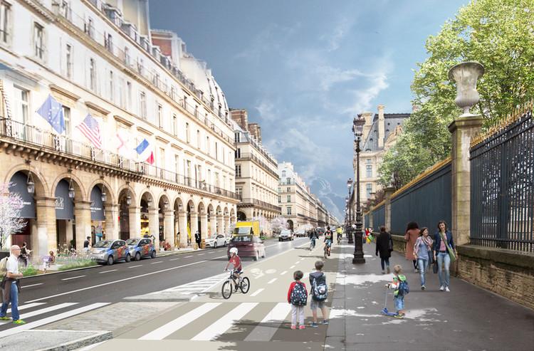 París anuncia paquete de proyectos para restringir los automóviles en el centro, © Ayuntamiento de París