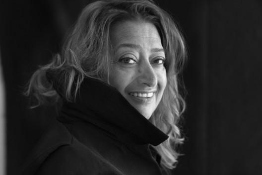 Dame Zaha Hadid. Image © Brigitte Lacombe