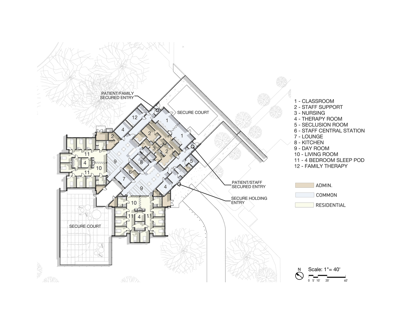 Gallery of Trillium Secure Adolescent Inpatient Facility TVA – Secure Home Floor Plans
