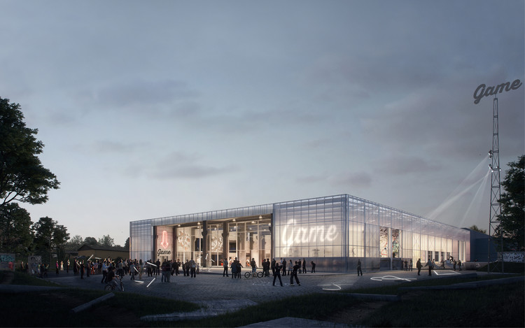 EFFEKT's Winning Proposal Converts Abandoned Warehouse Into Cultural Hub, © EFFEKT