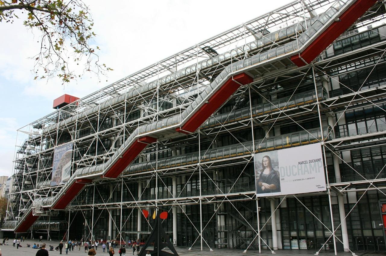 Pompidou centre to receive 110 million facelift for its - Centre george pompidou architecture ...