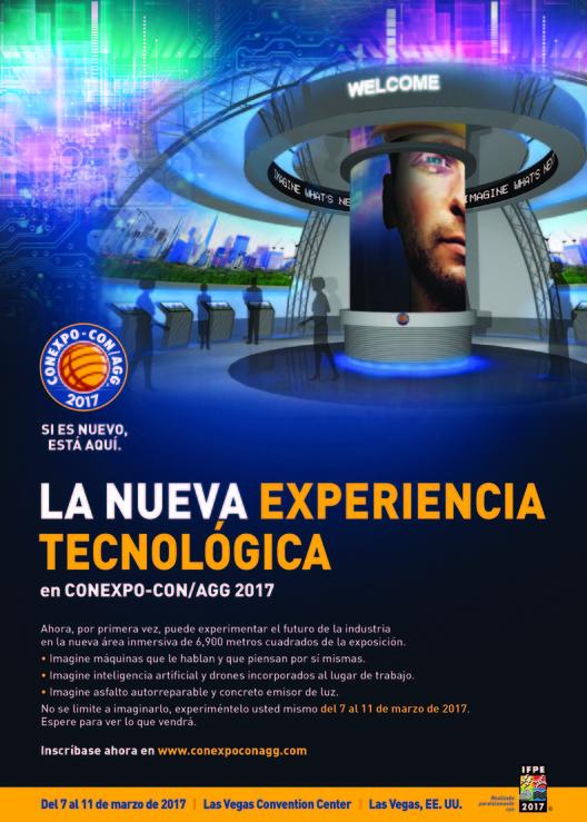 Conexpo-Con/AGG, Póster promocional de Conexpo 2017
