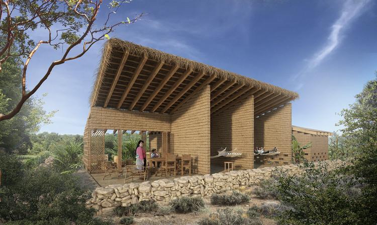 México: Prototipo de Vivienda Mínima Rural INFONAVIT, por Pascal Arquitectos, Cortesía de Pascal Arquitectos