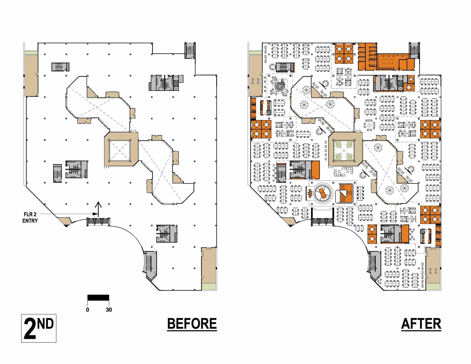 Galer a de sede de m m creative studio 20 for 10 shelford floor plan