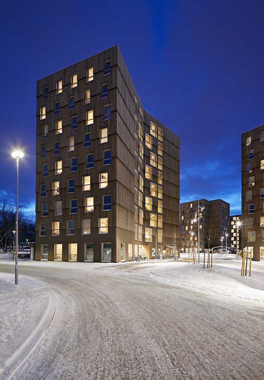 Moholt Timber Towers  / MDH Arkitekter, © Ivan Brodey