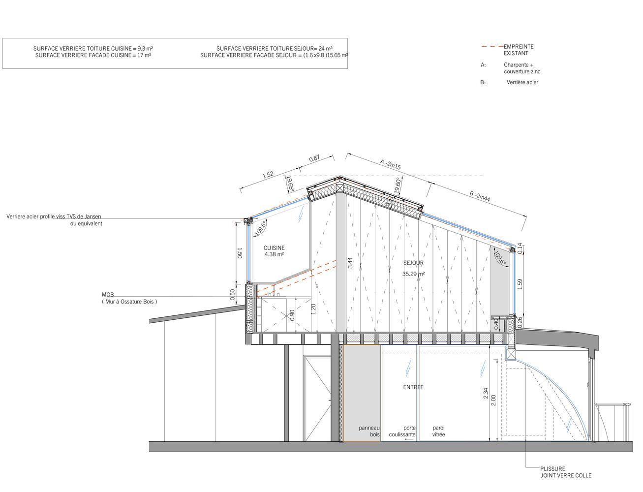 super toiture zinc d tail kt32 humatraffin. Black Bedroom Furniture Sets. Home Design Ideas