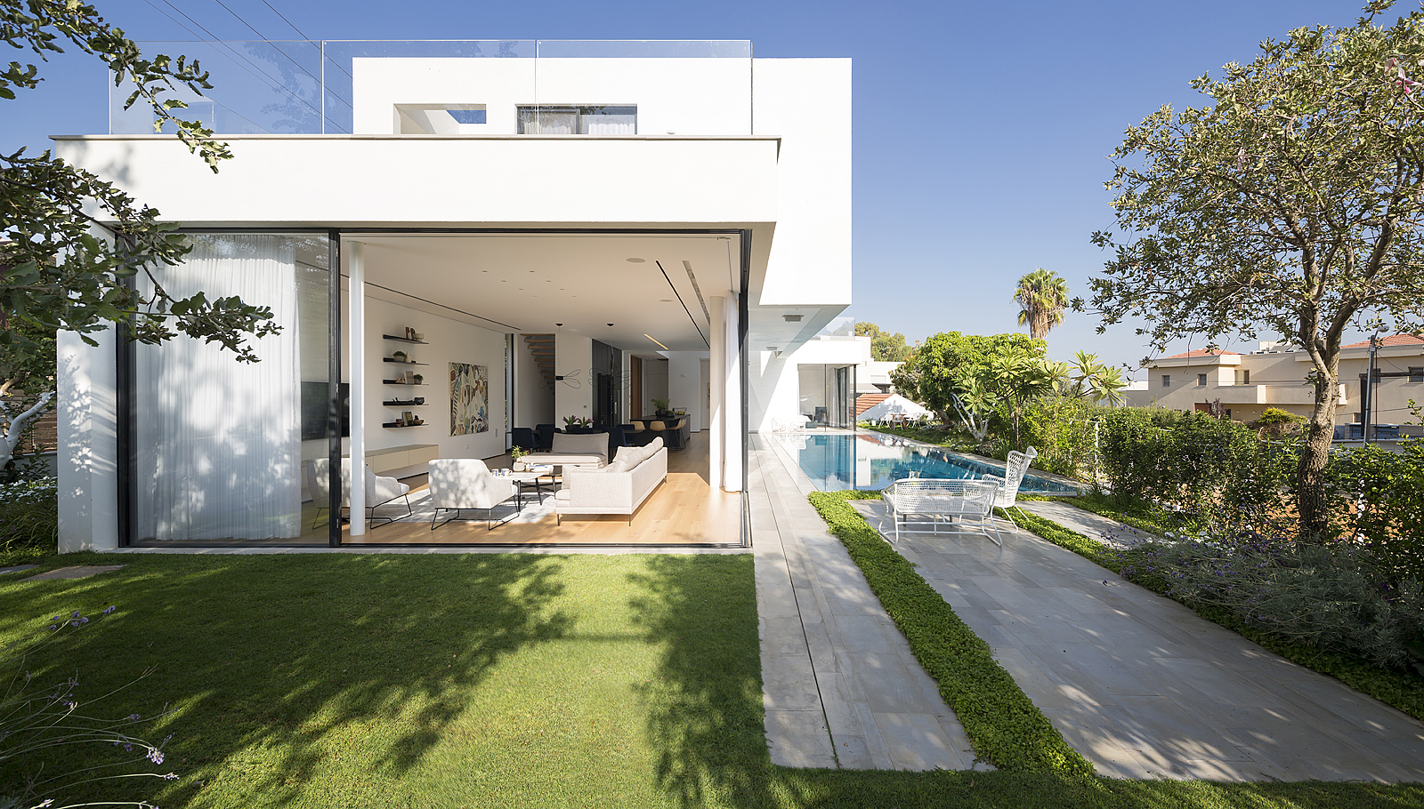 LB House / Shachar- Rozenfeld architects