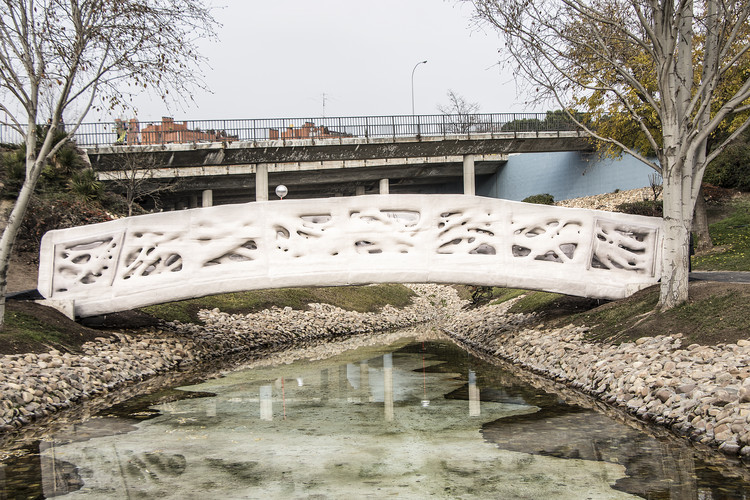 World's First 3D Printed Bridge Opens in Spain, Courtesy of IAAC