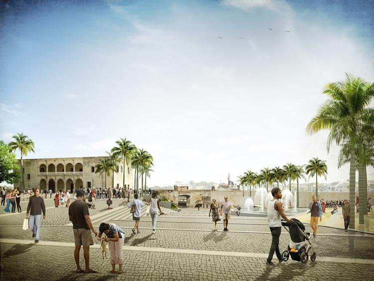 Moneo Brock + Rafael Moneo presentan diseño de la Plaza de España en República Dominicana, Cortesía de Moneo Brock