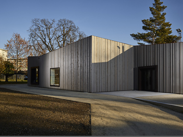 Recreational Community Center Châtelaine – Balexert  / STENDARDO MENNINGEN ARCHITECTES, © Federal studio