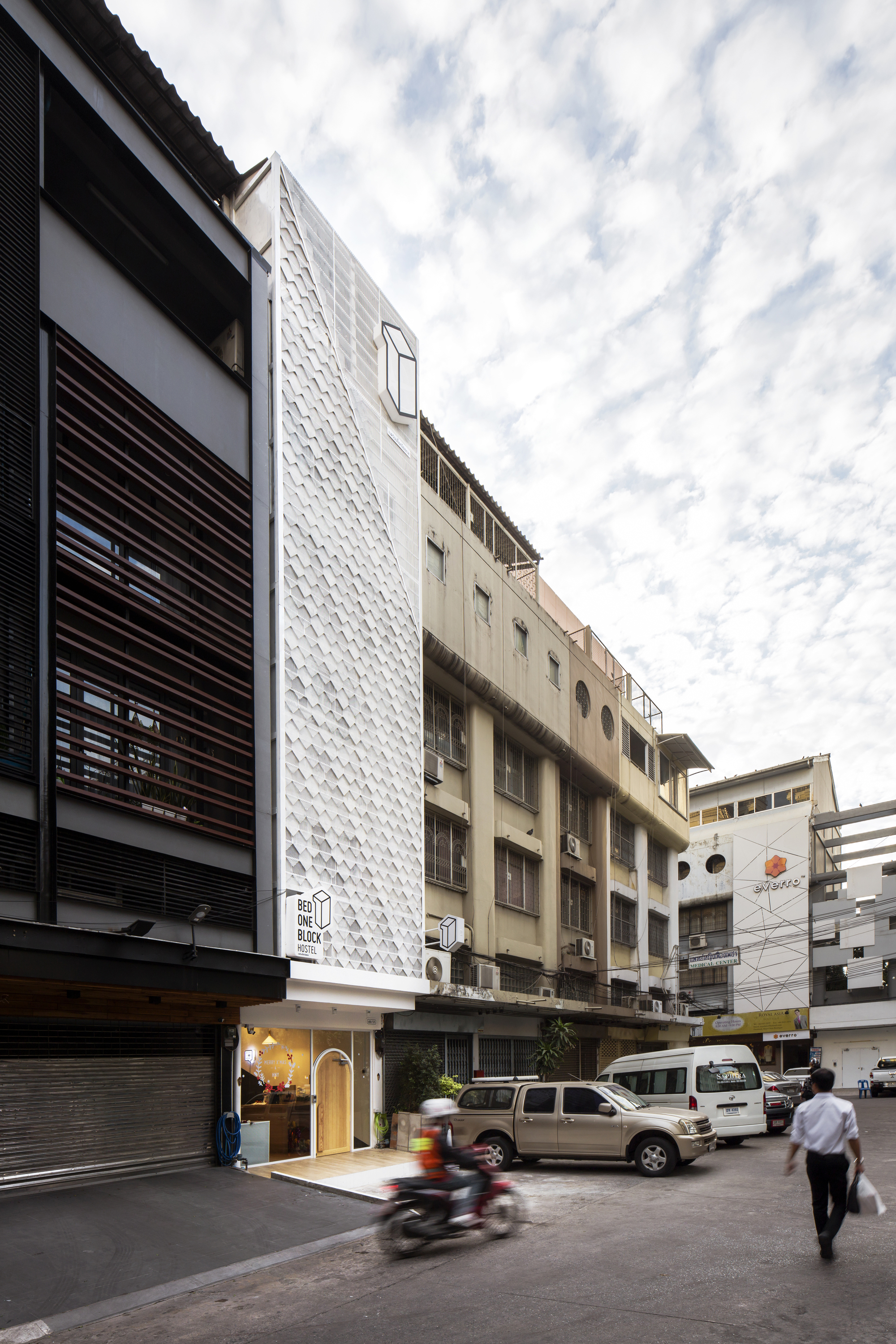 Bed One Block Hostel A Millimetre Archdaily