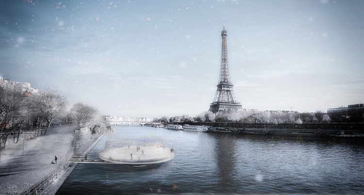 ANSKA Unveils Floating Platform Design for Paris Olympics , © ANSKA