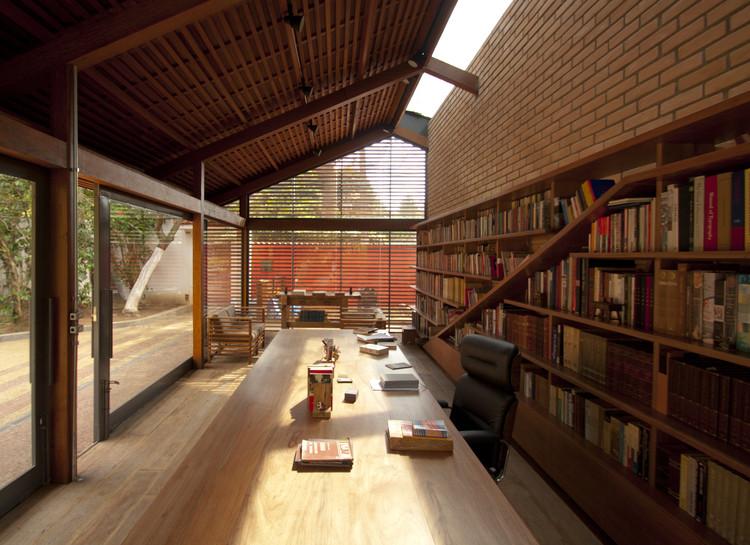 Jardín Biblioteca Cotia / IPEA, © Dalton Bertini Ruas