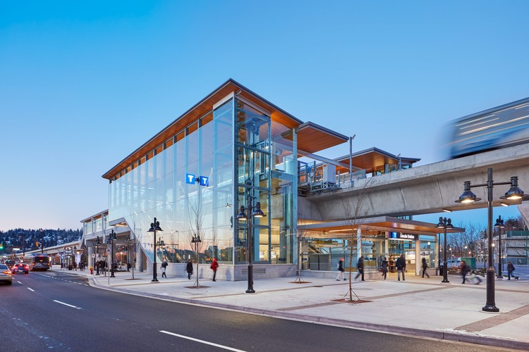 Evergreen Line Stations / Perkins+Will, © Andrew Latreille