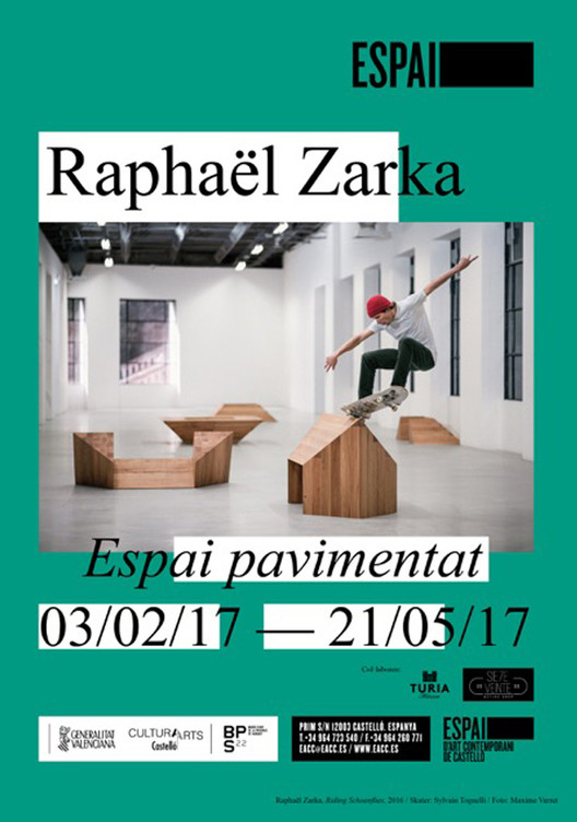 Exposición 'Espacio pavimentado' en Castelló