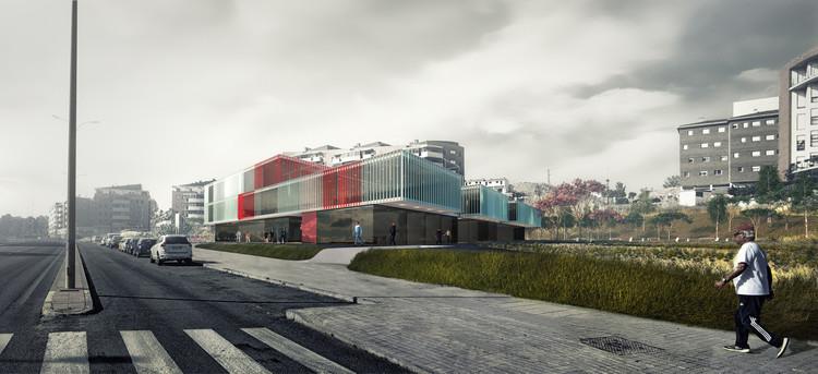 ABLM arquitectos, primer lugar en concurso para nueva sede de la Cruz Roja Española, Cortesía de ABLM Arquitectos