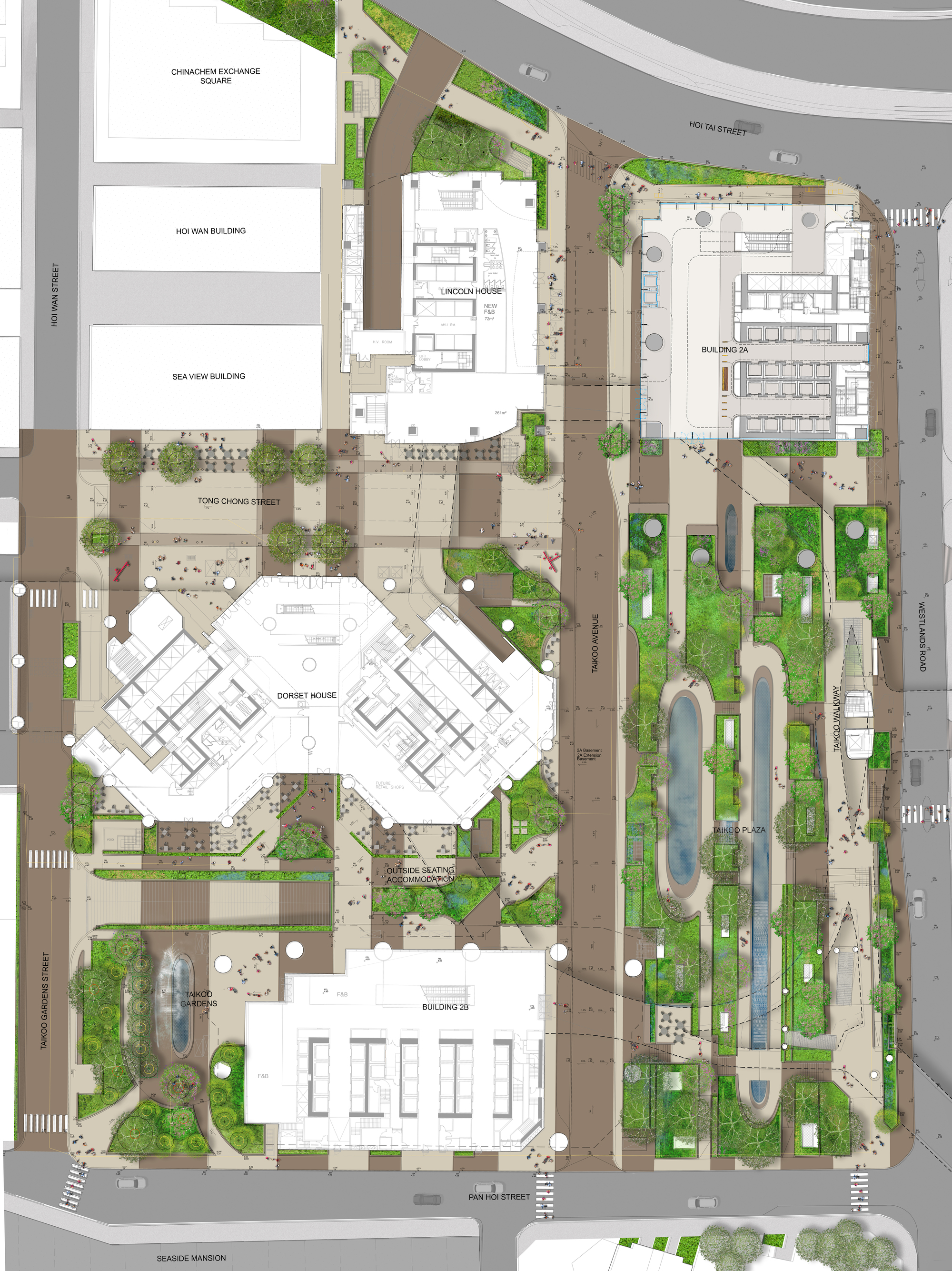 Business Office Floor Plans Gallery Of Public Park Promotes Native Biodiversity In