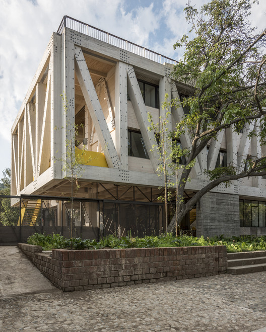 Uc Architecture School Building Gonzalo Claro Archdaily