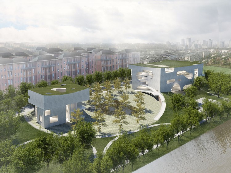 Steven Holl Architects Unveils Plans For Cloud Like Cultural And Health  Center In Shanghai,