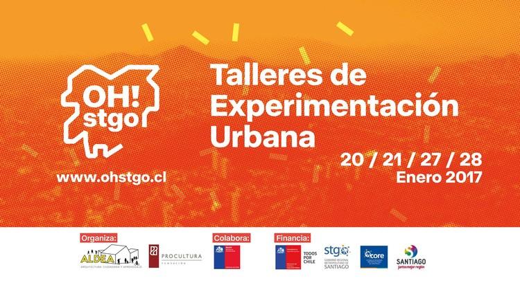 OH! Stgo: Talleres de Experimentación Urbana / Ingeniería y Arquitectura, Cortesía de OH! Stgo