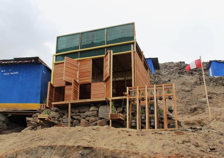 'Ciudad Dormitorio' en Lima: Módulo habitable productivo para asentamientos informales, Cortesía de Natura Futura Arquitectura