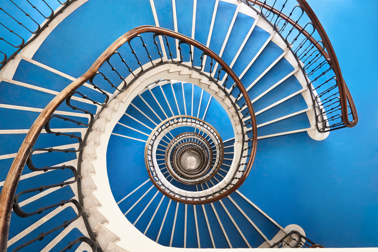 Explore Budapest's Art Deco and Bauhaus Staircases Through This Photo Series, © Balint Alovits