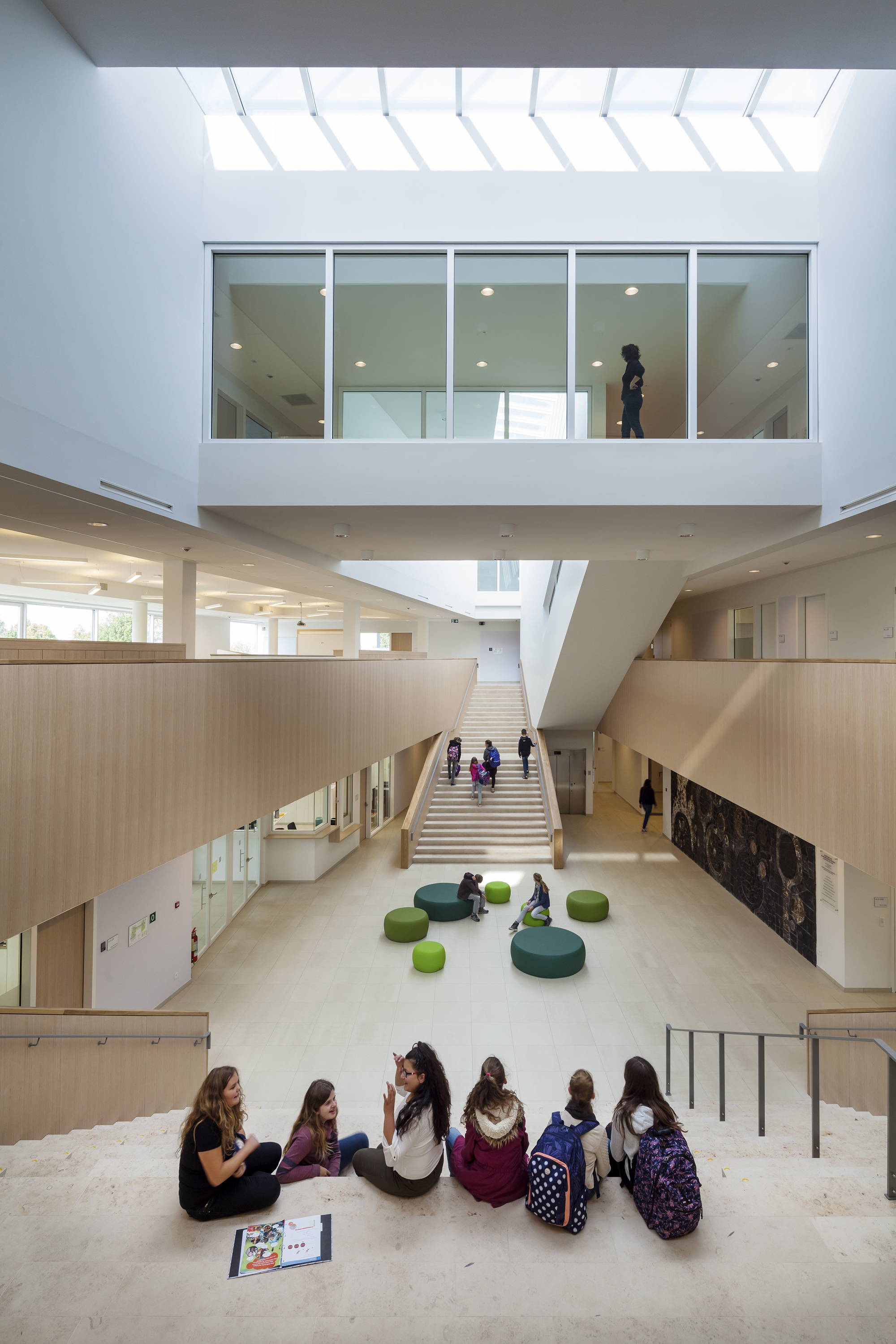 Green And Sustainable Learning Campus Peer Bekkering Adams Architects Archdaily