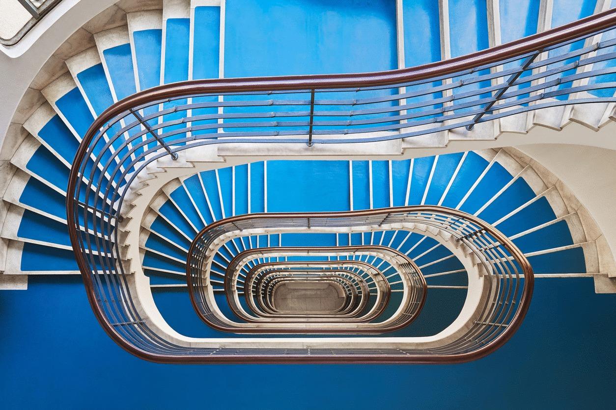 30ac3c7b61 Galeria de Escadas Art Déco de Budapeste pelas lentes de Balint ...