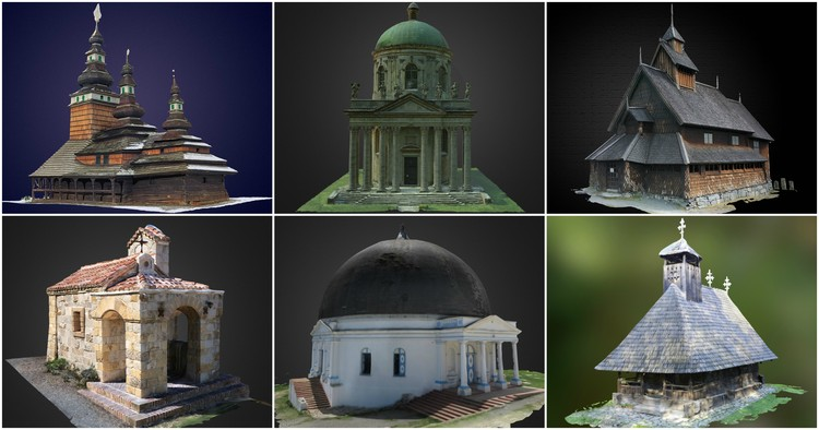 9 Unusual and Interesting Small Churches and Chapels, As Selected by Sketchfab