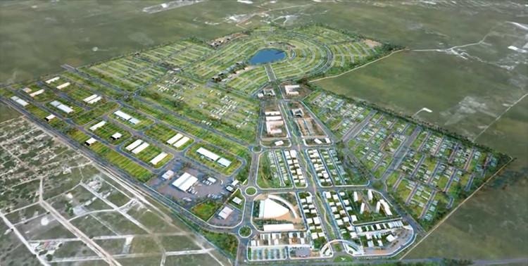 Primeira cidade inteligente do Brasil será inaugurada ainda este ano, Imagem aérea de Smart City Laguna. Image via Engenharia E