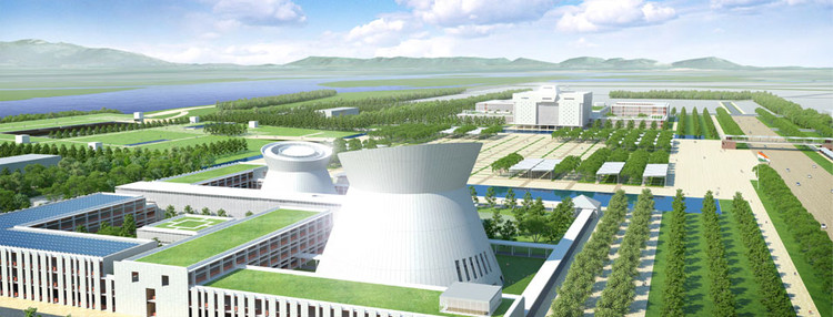 Fumihiko Maki Criticizes Indian State Government After Amaravati City Contest, Maki and Associates' Competition-Winning Design. Via Amavarati.gov.in