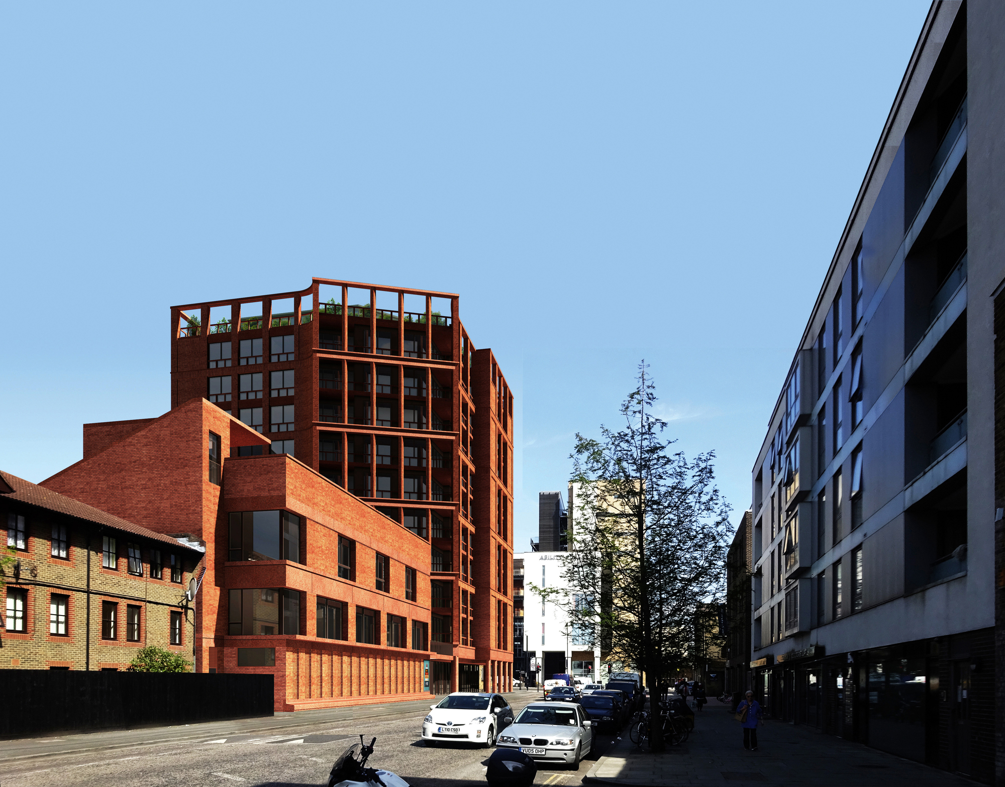 Henley Halebrown Releases New Images Of Mixed Use School In London Looking East Along Downham