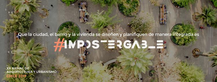 Bienal de Arquitectura y Urbanismo de Chile se realizará en Valparaíso durante el mes de Octubre , Cortesía de XX Bienal de Chile