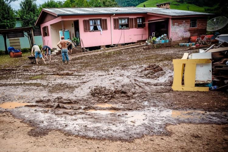 95% das cidades brasileiras não estão preparadas para desastres ambientais, Registro da cidade de Rolante após fortes chuvas em janeiro de 2017. Image © IASD/Flickr-CC, via The CityFix Brasil